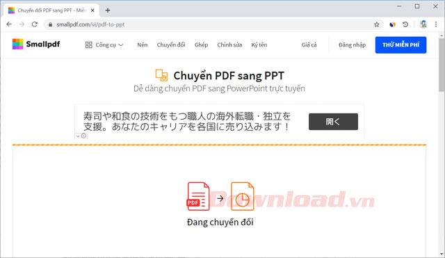 Chuyển đổi PDF sang PPT