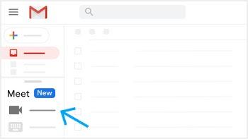 Bắt đầu cuộc họp video từ Gmail