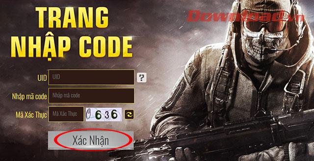 Nhập mã quà tặng game Call Of Duty Mobile VN