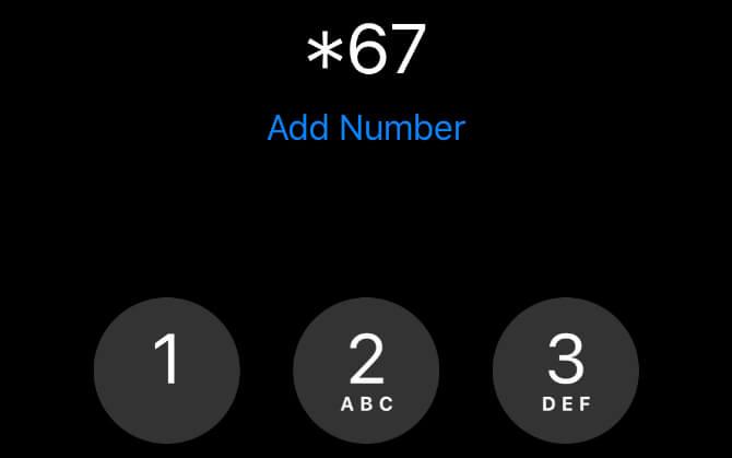 Cách gọi giấu số điện thoại