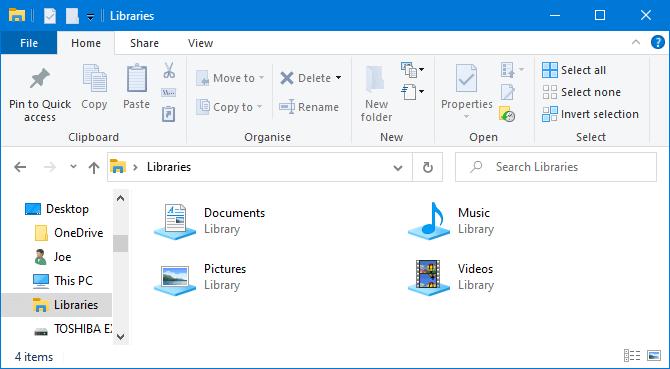 Lưu file trên Libraries