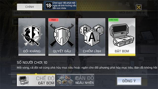 Chế độ chơi Một viên hạ gục trong Call Of Duty Mobile VN