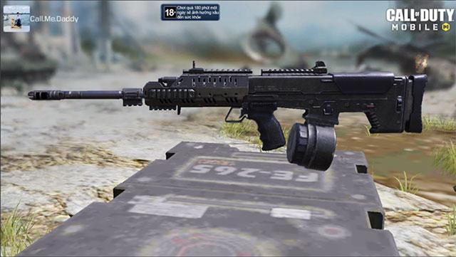 Khẩu súng UL736