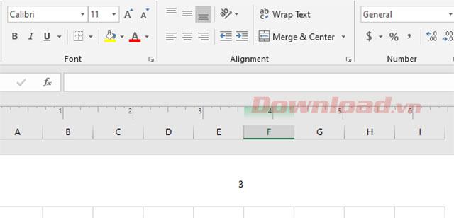 Hiển thị trang trên Excel