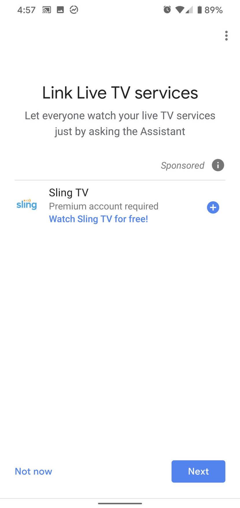 Liên kết dịch vụ TV trực tuyến