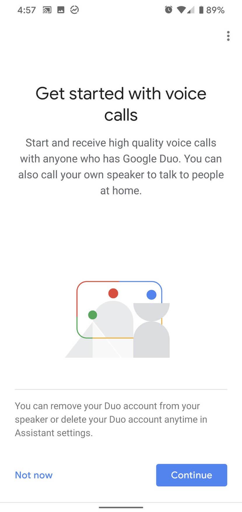 Bắt đầu sử dụng các dịch vụ giọng nói