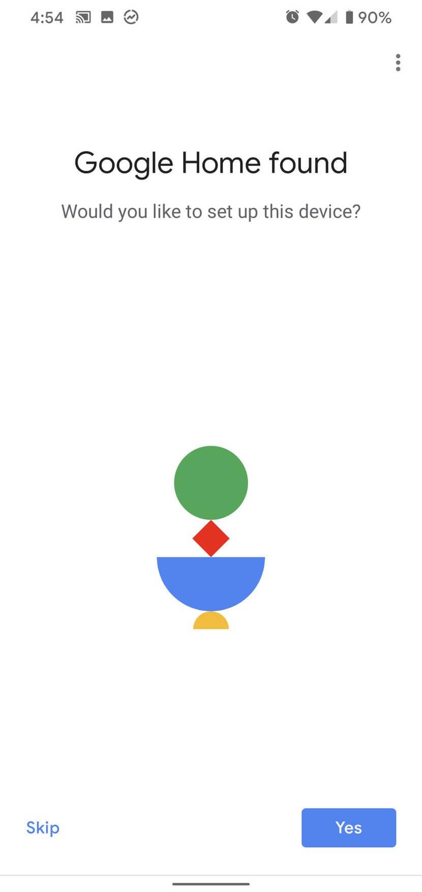 Tìm thiết bị Google Home