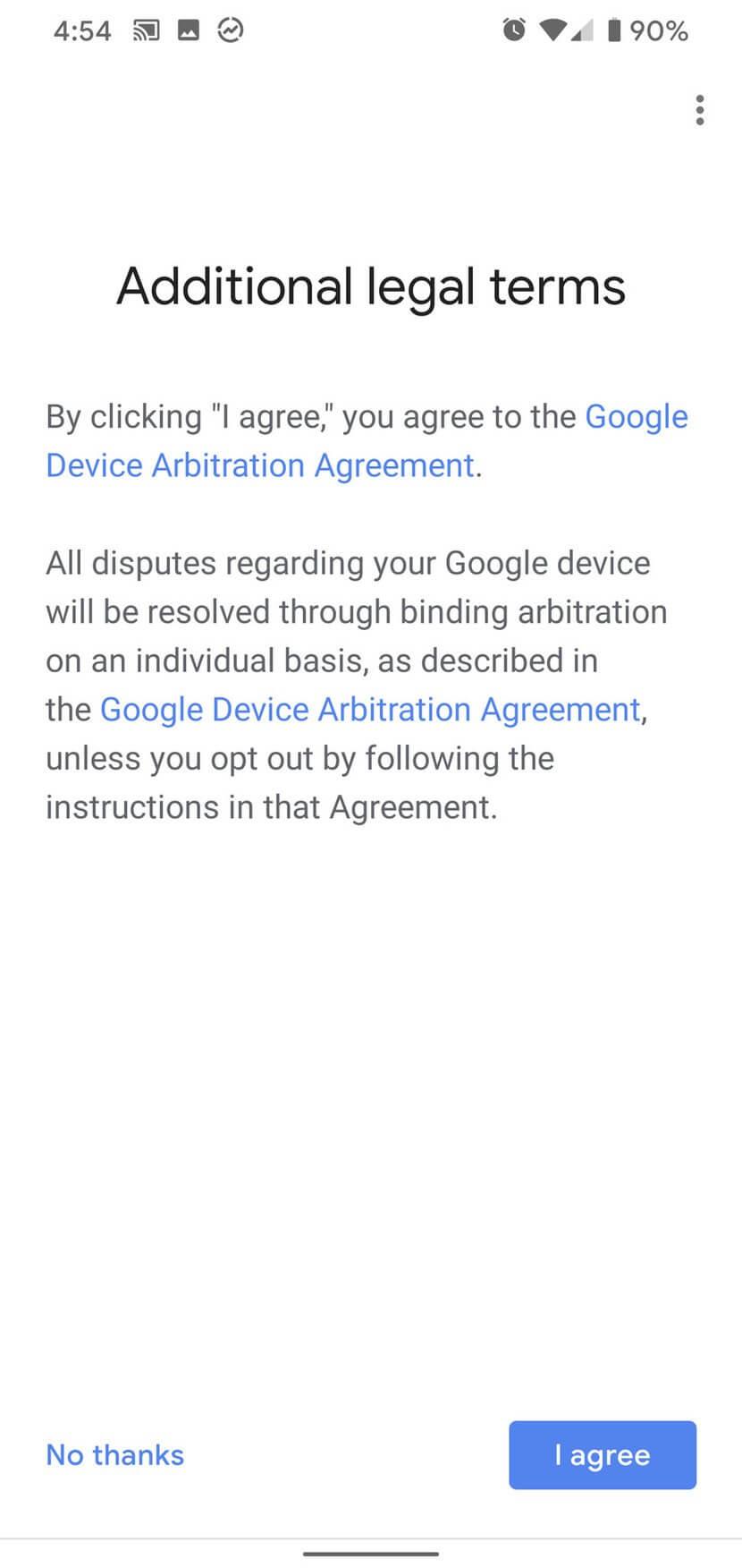 Điều khoản pháp lý khi sử dụng loa Google