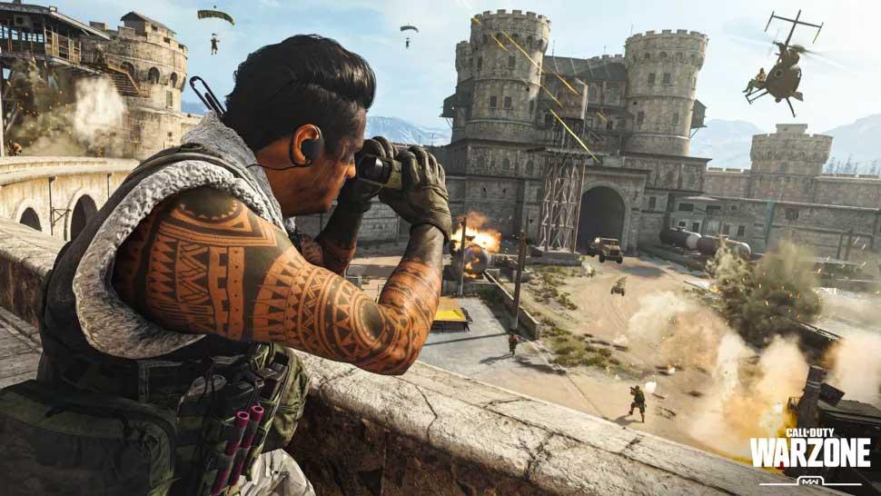 Sửa lỗi không vào được Call of Duty Warzone