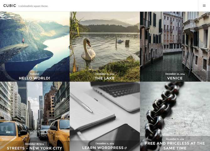 Tạo một blog có giao diện giống Instagram