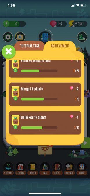Game làm vườn hấp dẫn Pocket Plants