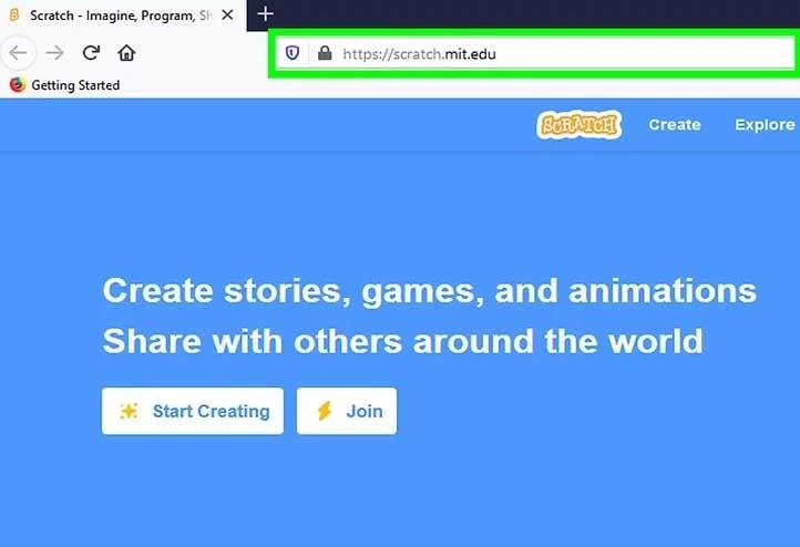 Click Create để tạo game
