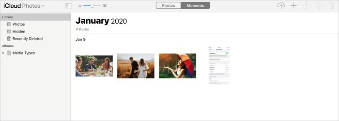 Chép video vào iphone qua iCloud