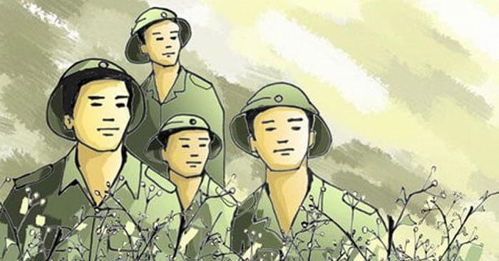 Phân tích hình ảnh người lính trong bài thơ Đồng chí