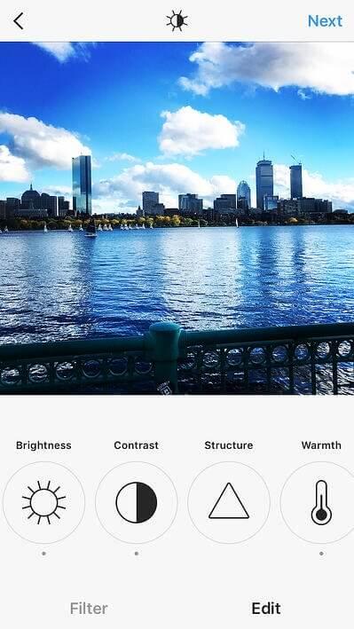Thêm địa chỉ vào ảnh Instagram