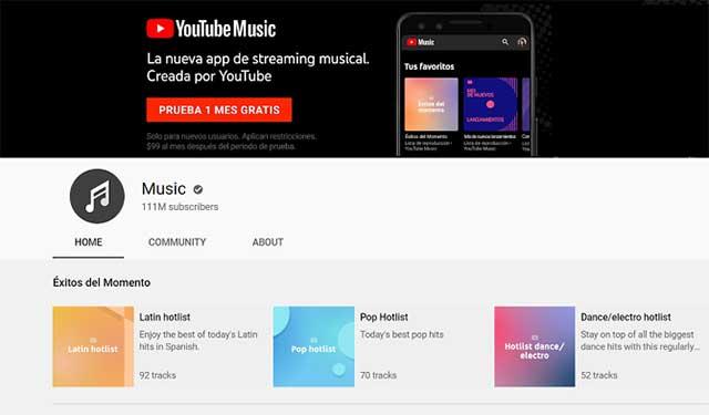 YouTube là một trang web tuyệt vời để nghe mọi thể loại nhạc