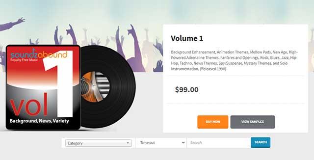 Soundzabound là dịch vụ truyền phát nhạc dành cho mục đích giáo dục