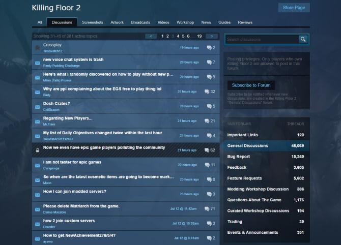 Mạng xã hội Steam