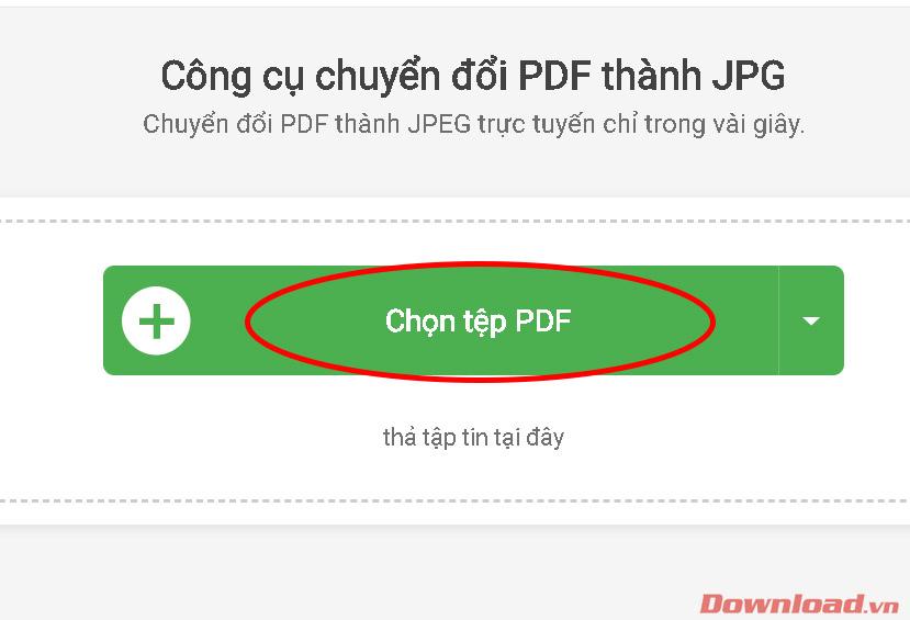 Chọn tệp PDF