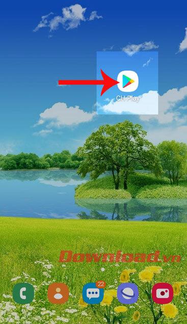 Mở ứng dụng Google Play