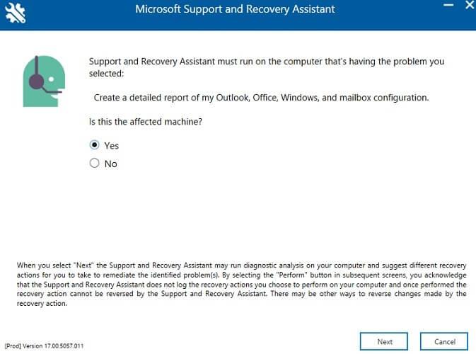 Trợ lý khôi phục và hỗ trợ của Microsoft