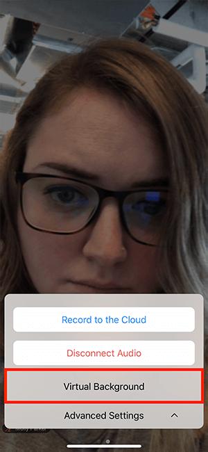 Tùy chọn đổi hình nền ảo trên Zoom