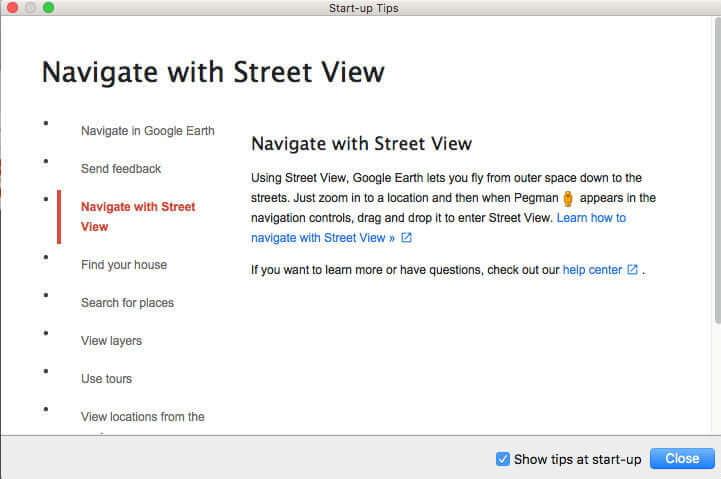 Đọc hướng dẫn sử dụng Google Earth Pro
