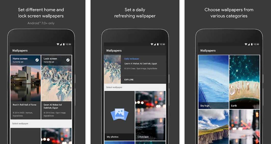 Hình nền cho Android của Google