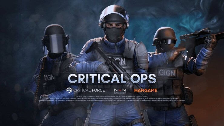 Game bắn súng offline Critical Ops cho Android