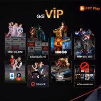 Hướng dẫn mua gói VIP của FPT Play
