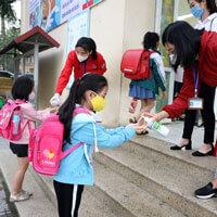 Hướng dẫn khai báo y tế đối với học sinh