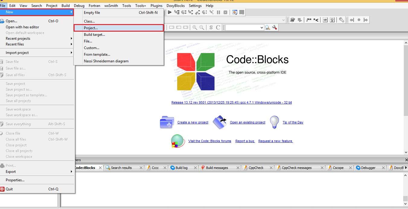 Hướng dẫn lập trình C/C++ trong CodeBlocks