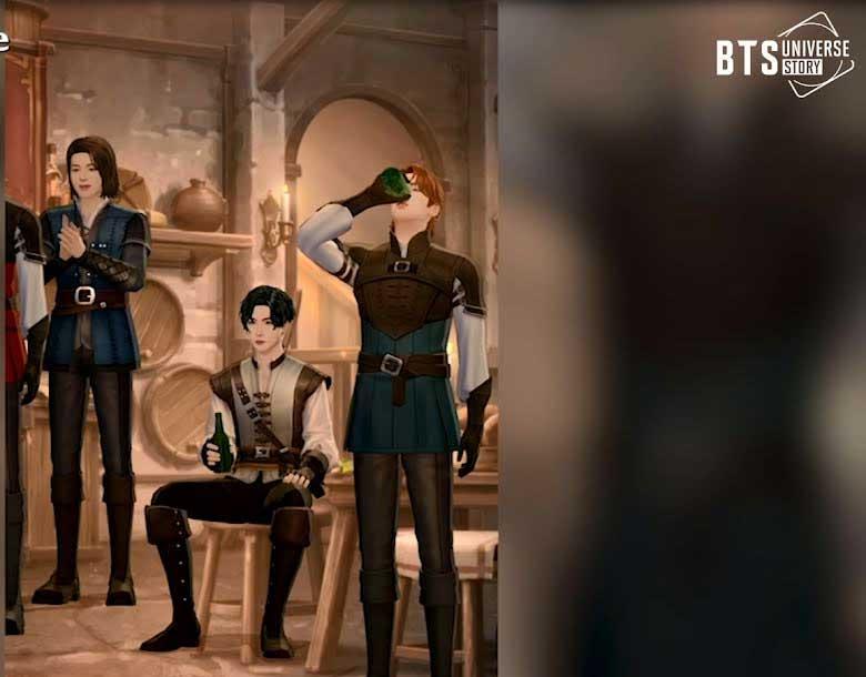 Thiết kế trang phục cho BTS Universe Story