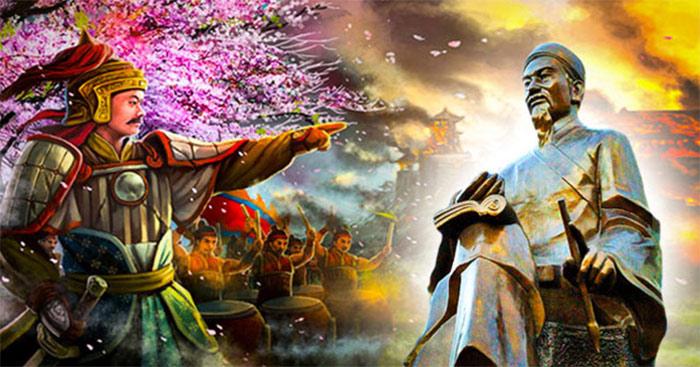 Tóm tắt Hoàng Lê Nhất thống chí hồi thứ 14 (13 mẫu) - Văn 9