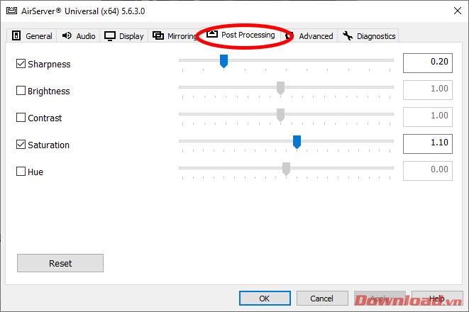 Cách seting và sử dụng AirServer livestream màn hình Smartphone lên PC update 6