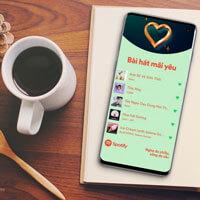 Hướng dẫn sử dụng Bài hát mãi yêu trên Spotify