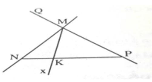 Đề kiểm tra 1 tiết Hình học 6 chương 1 - Bài 1