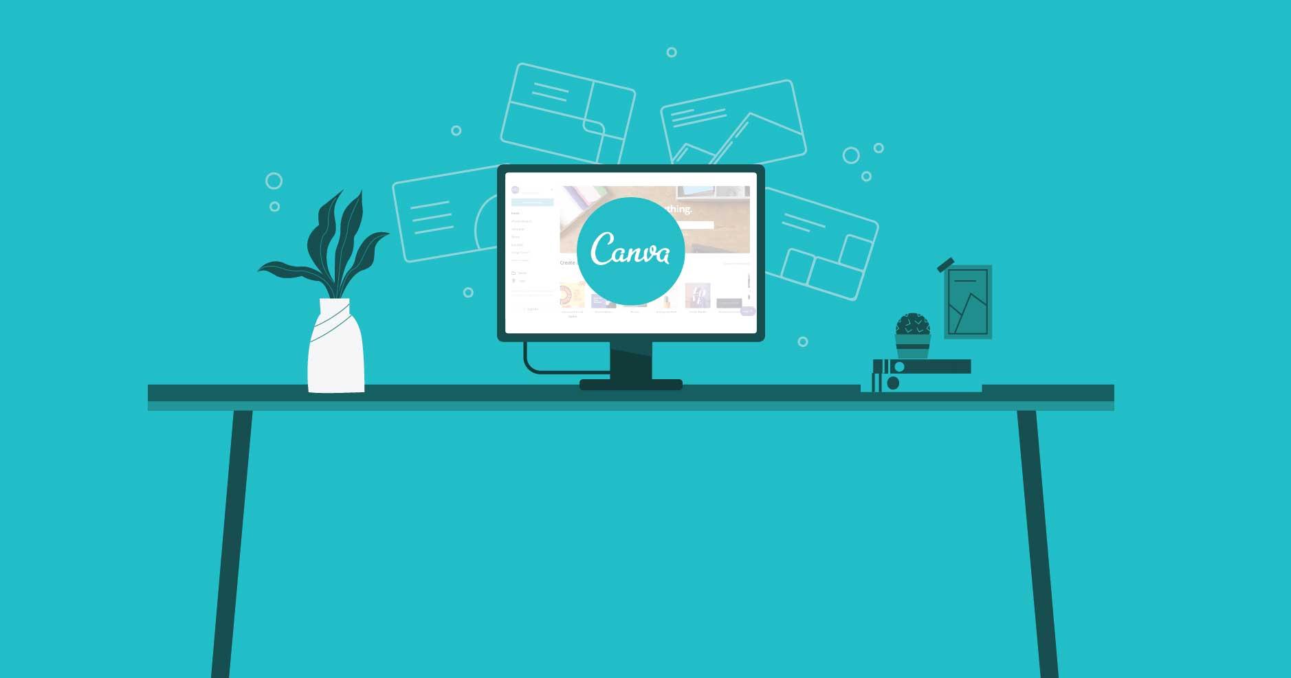 Phần mềm ghép ảnh trên máy tính Canva