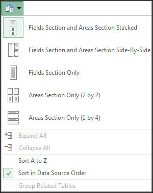 Bảng công cụ Excel