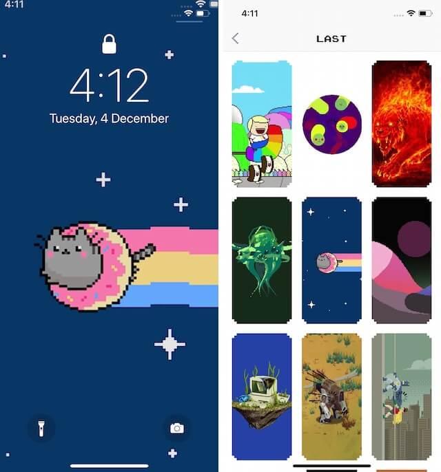App hình nền động WOW Pixel