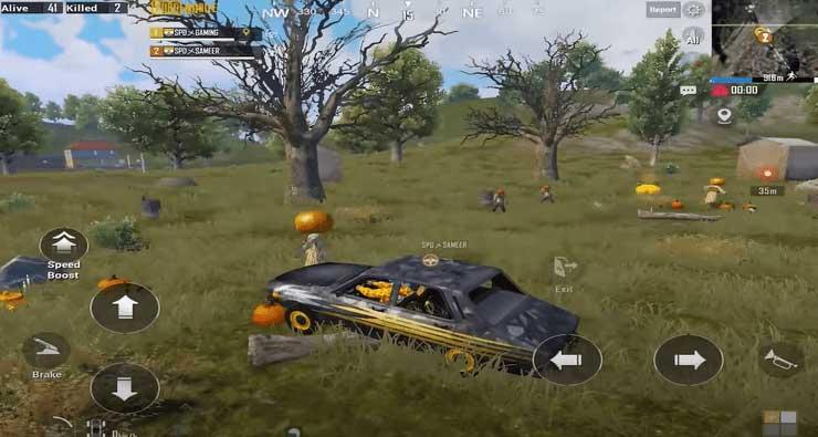 Địa bàn của zombie trong PUBG Mobile