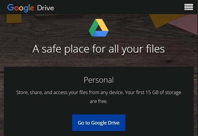 Ứng dụng lưu trữ đám mây Google Drive