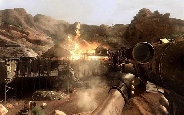 Far Cry 2 là game FPS hàng đầu hiện nay
