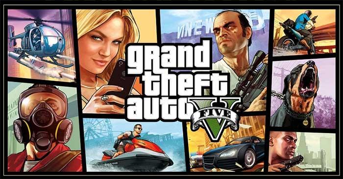 Grand Theft Auto V (GTA 5) là game phiêu lưu hành động đình đám