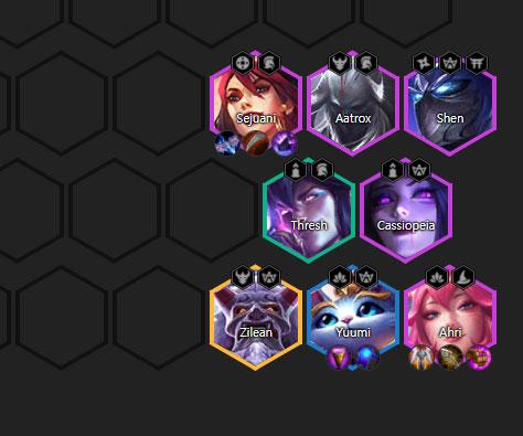 ĐTCL mùa 4: Top những đội hình mạnh nhưng ít người chơi update 2