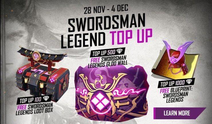 Garena không lấy phí Fire: Những điều bạn nên biết về skin Gloo Wall Swordsman Legends mới update 1