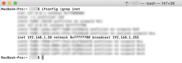 Cấu hình cấu hình IP trên máy Mac
