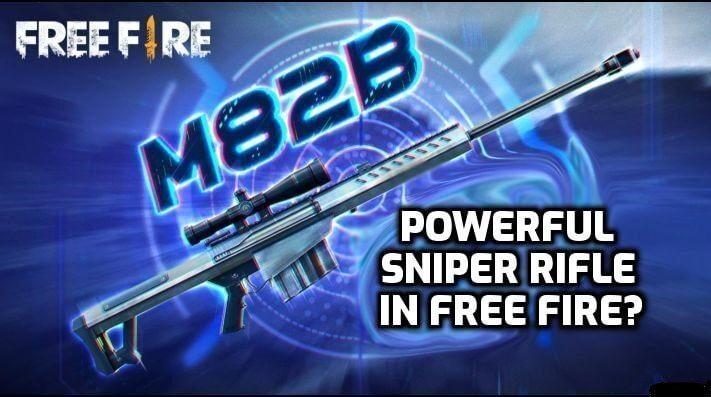 Súng Free Fire M82B