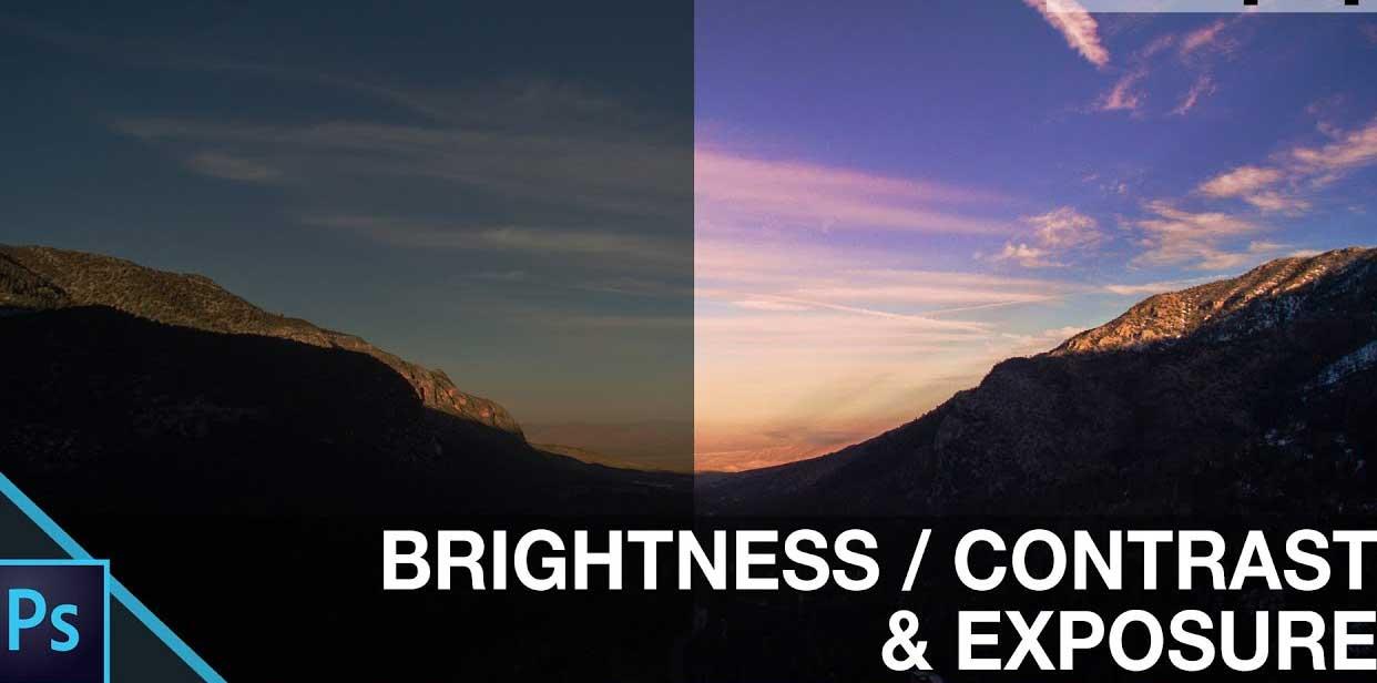 Kỹ năng chỉnh độ sáng, tương phản & phơi sáng trogn Photoshop