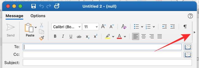 Thêm chữ ký vào email Outlook trên Mac